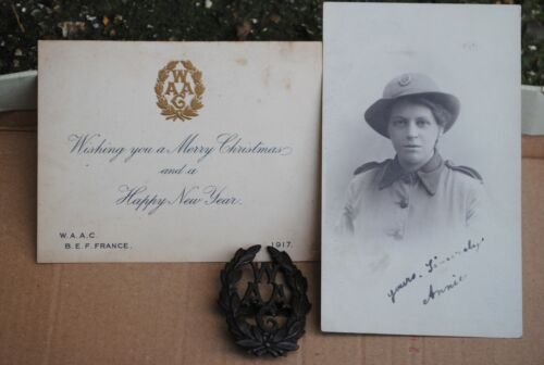 WW1 WAAC collection