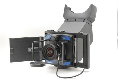 TOP MINT CAMBO WIDE 580 4x5 Camera w/ Super Angulon 58mm 5.6 XL 110° From JAPAN