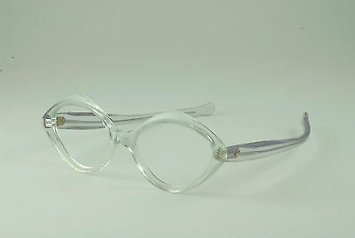 9dbb346b49c Vintage Clear Diopter Lens in Frame w Handle 6 1 4 Diameter Thick Glass
