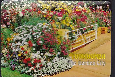 The Garden City Toowoomba Queensland  QLD Australia Postcard Mint Corner (Garden City Qld)