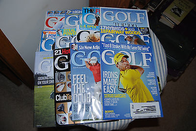 Full Year of Golf Magazine -- 2013 Complete -- Sports Illustrated