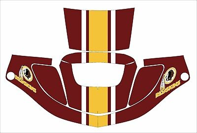 3m Speedglas 9000 9002 X Xf Sw Jig Welding Helmet Wrap Decal Sticker Redskins