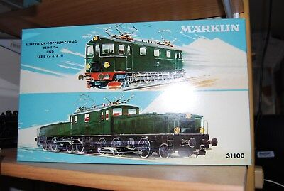 MARKLIN HO 31100 dual set rare ltd new boxed