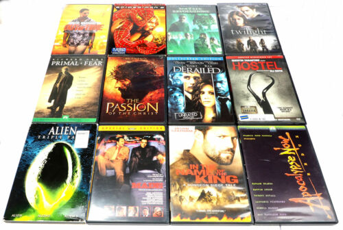 12 DIFFERENT USED DVD MOVIES LOT #6 IN ORIGINAL CASES