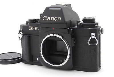 """ Almost Mint "" Canon New F-1 AE Finder 35mm SLR Film Camera Body from Japan 166"