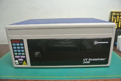 Stratagene Uv Stratalinker 2400 Crosslinker 3d Print Resin Cure Caring Booth Box