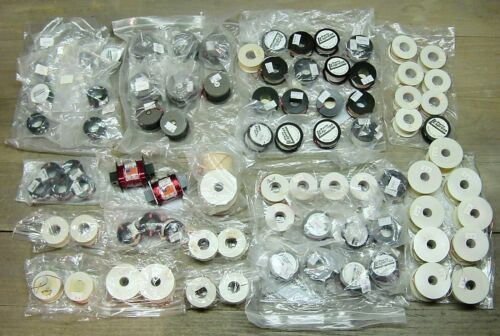 Lot of 85 Loudspeaker Crossover Coils Inductors Madisound Parts Express NOS