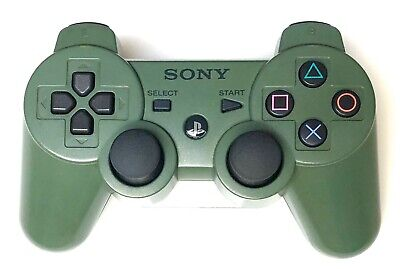 Genuine Sony PlayStation PS3 Sixaxis DualShock 3 controller JUNGLE GREEN - RARE