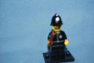 Authentic Lego Series 11 Minifigure Constable Bobby w/ Baton 71002 Minifig