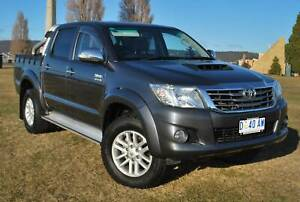 2013 TOYOTA HILUX SR5 4X4 TURBO DIESEL 5 SPEED - EXCELLENT CONDITION North Hobart Hobart City Preview