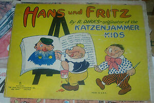 HANS-UND-FRITZ-DIRKS-1917-SAALFIELD-193-ON-BACK-DOES-NOT-MATCH-OVERSTREET