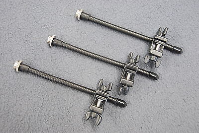 - 3 Audix DClamp Drum Microphone Clamps D-Clamp Clip Conga Bongo Hand Drums