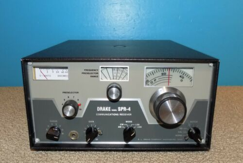 Drake SPR-4 Communications Receiver Good Condition Free Shipping