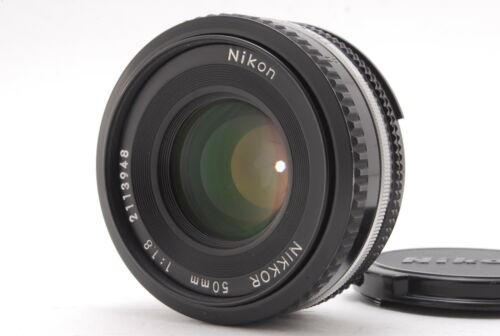 Near Mint Nikon Ai-s Nikkor 50mm F/1.8 Pancake Ais MF Lens From Japan