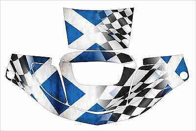 3m Speedglas 9000 9002 X Xf Auto Sw Jig Welding Helmet Wrap Decal Scottish Flag