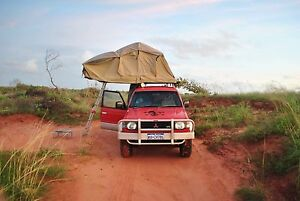 Mitsubishi Pajero for backpacker / rooftop tent & fully equipment Brisbane City Brisbane North West Preview