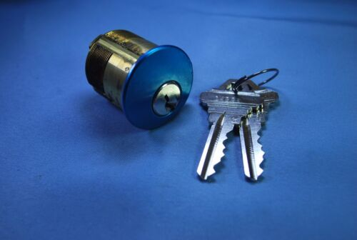 "Ilco 7205SC1-25 Mortise Cylinder 1-1/4"" long SC1 keyway Satin Chrome Finish"