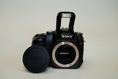 Sony Alpha A100 Black Digital SLR Camera Body Only {10.2 M/P}, used for sale  Shipping to Canada