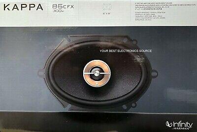 "NEW Infinity KAPPA-86CFX, 6""x8"" 2-Way Coaxial Car Audio Speakers (1 Pair) 6.5"""