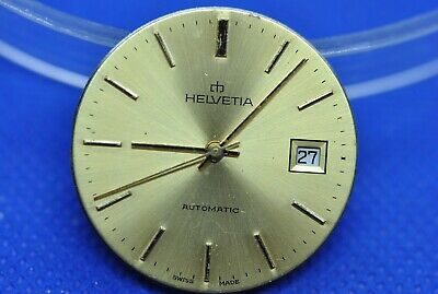 Original HELVETIA caliber eta 2783 automatic movement running & dial (1/5522)