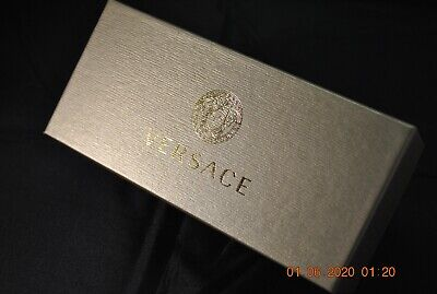 Glasses Eyeglasses Spectacles Versace Case with Box and Cloth