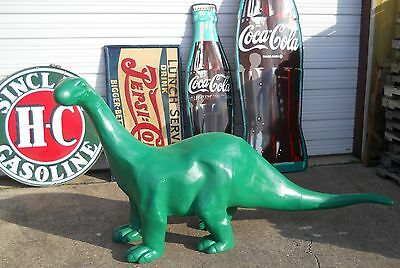 SINCLAIR DINO 8' FOOT CAST ALUMINUM Dinosaur Mobile Texaco Gulf Gas & Oil SIGN