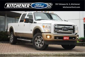 2012 Ford F-350 Lariat KING RANCH | ONLY 61K! | LEATHER | 20...