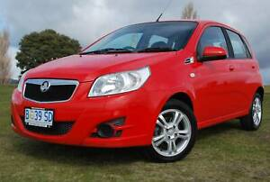 2010 HOLDEN BARINA 5 DOOR HATCHBACK - AUTOMATIC - IDEAL FIRST CAR North Hobart Hobart City Preview