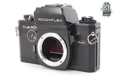 【RARE!!EXC】 RICOH RICOHFLEX TLS401 35MM SLR FILM CAMERA BLACK BODY **PLEASE READ