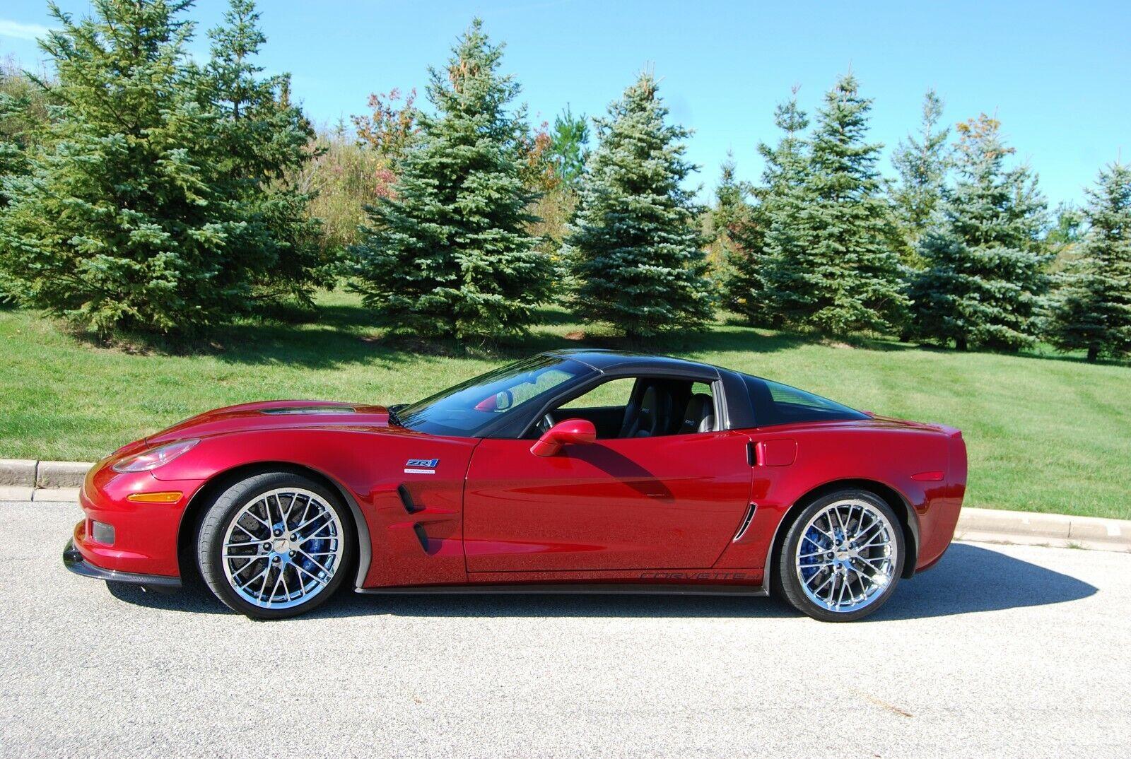 2010 Ebony Chevrolet Corvette ZR1 3ZR   C6 Corvette Photo 1