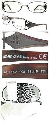 $359.00 Roberto Cavalli Eyeglasses RC0552/V Black Tortoise Just In So Hot LOOK