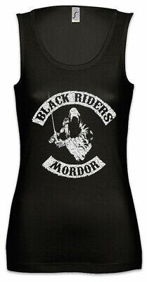 Black Riders MC Damen Tank Top Herr der Schwarze Reiter Fun Ringe Symbol Nazguls - Ring Damen Tank