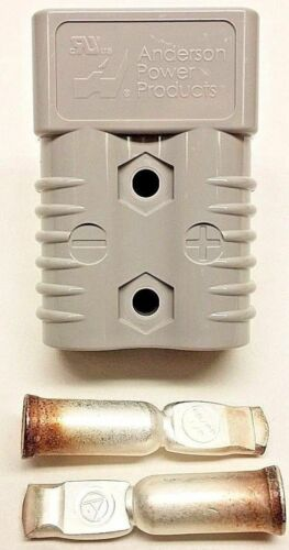 6325G5 Anderson SB175 Battery Connector Gray 2 AWG Housing & Contacts FLAT SHIP