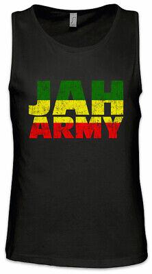 Jah Army Men Tank Top Rasta Rastafari Babylon Irie Ska Reggae Jamaica Africa