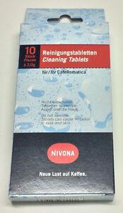 ORIGINAL NIVONA  Reinigungstabletten 10 er SET  NIRT 701