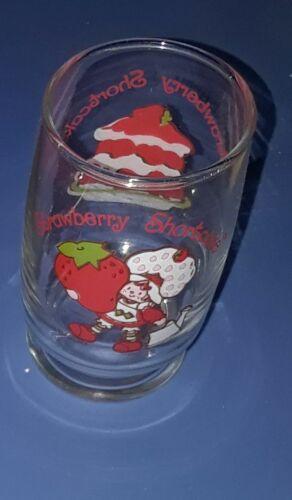 Vintage Strawberry shortcake beverage juice glass Drinking american greetings