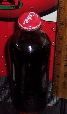 2011 HUTCHINSON EMBOSSED 9.3 OUNCE  COCA COLA BOTTLE
