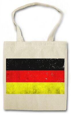 GERMAN FLAG HIPSTER BAG - Stofftasche Stoffbeutel - Deutschland Fahne Germany (German Flag Bag)