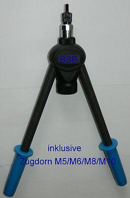 Nietmutternzange m5 m6 m8 m10 acier a2 Masterfix mfx510 dans le carton hebelnieter M