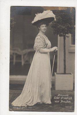 Prinzessin Eitel Friedrich Von Preussen 1910 RP Postcard Germany Royalty 038b