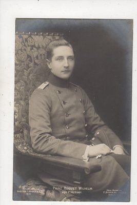 Prinz August Wilhelm Von Preussen RP Postcard Germany Royalty 041b