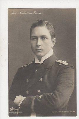 Prinz Adalbert Von Preussen RP Postcard Germany Royalty 040b