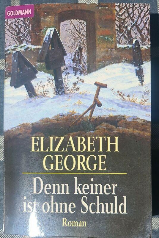 Denn keiner ist ohne Schuld   Elizabeth George   Taschenbuch   Roman   Buch ☆