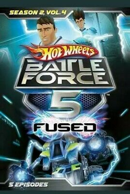 Hot Wheels Battle Force 5 Fused - Season 2 Vol 4 (DVD, 5 episodes) - NEW Sealed