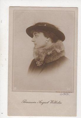 Prinzessin August Wilhelm RP Postcard Germany Royalty 044b