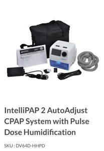 Intellipap 2 autoadjust Cpap system -pulse dose humidification