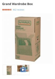 New UHaul large wardrobe box