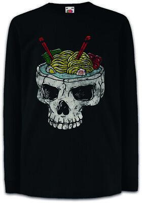 angarm T-Shirt Japan Noodles Fun Nudeln Schädel Schüssel (Schädel Schüssel)