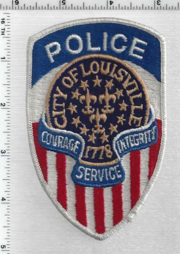 Louisville Police (Kentucky) 1st Issue Shoulder Patch