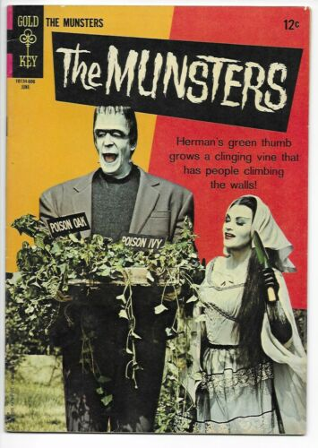 1966 Gold Key The Munsters #7 VF- 7.5